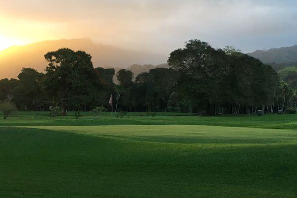 Le cadre enchanteur d'Atimaono et de Temae attend les golfeurs ce week end à l'occasion du Téléthon