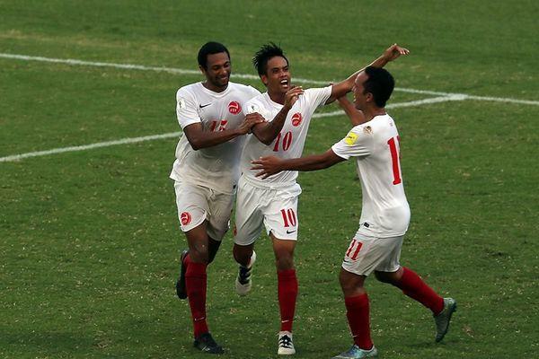 Tahiti est 2e du groupe A avec le même nombre de points que les Cagous (4), mais une différence de buts inférieure (+4 contre +7)