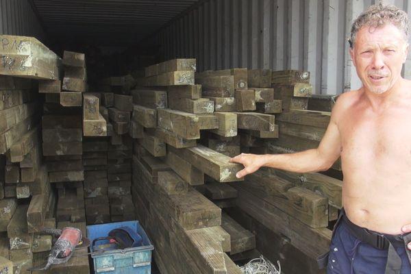 bois en provenance de Madagascar