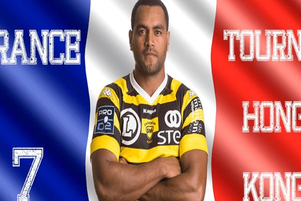 Nisié Huyard en équipe de France de rugby à 7