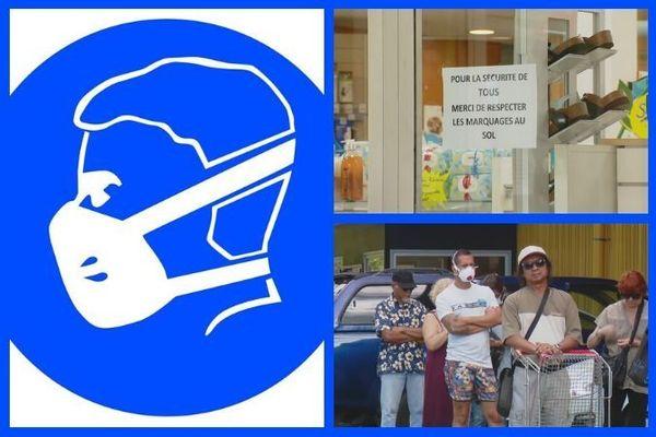 Coronavirus : port du masque