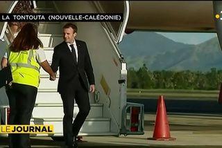 Premiers pas d'Emmanuel Macron en Nouvelle Calédonie