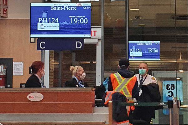 Sur Air Saint-Pierre, les masques sont obligatoires