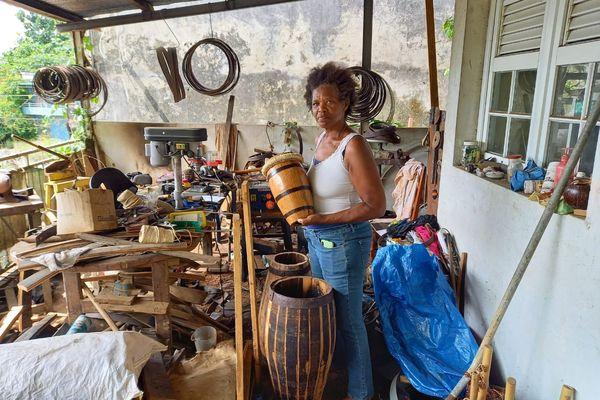 Aline Goder tambour artisanal