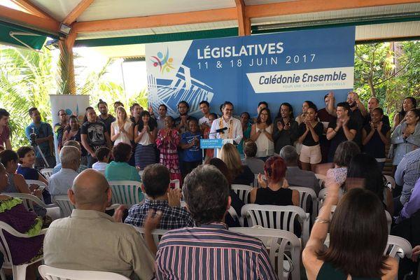 Désignation officielle du candidat Calédonie Ensemble dans la 1ère circonscription.