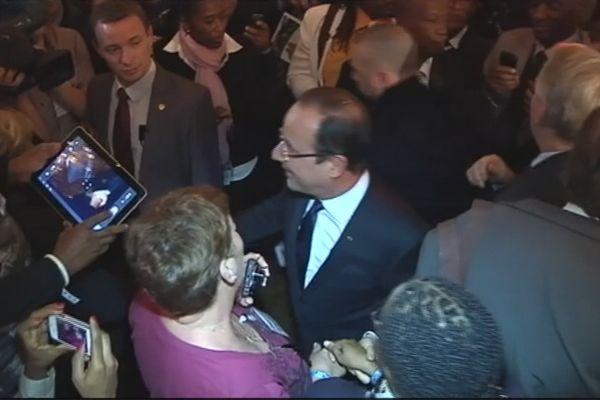 François Hollande au Congres des Maires