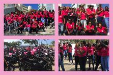 """La 4e édition de la """"Virée Rose"""" poursuit son objectif de sensibilisation sur le cancer du sein en Martinique."""