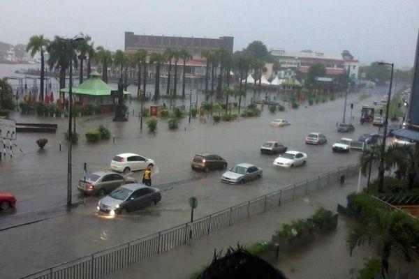 Pluies torrentielles à Maurice