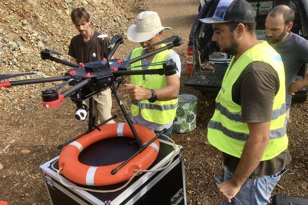 drone revegétalisation mont dore