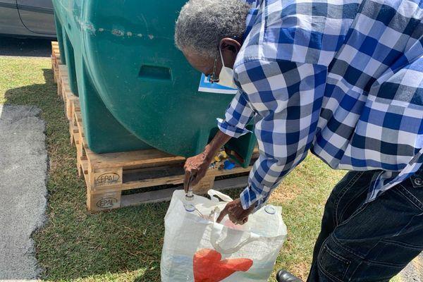 Ravitaillement en eau