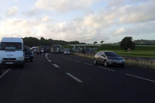 Blocage des  routes