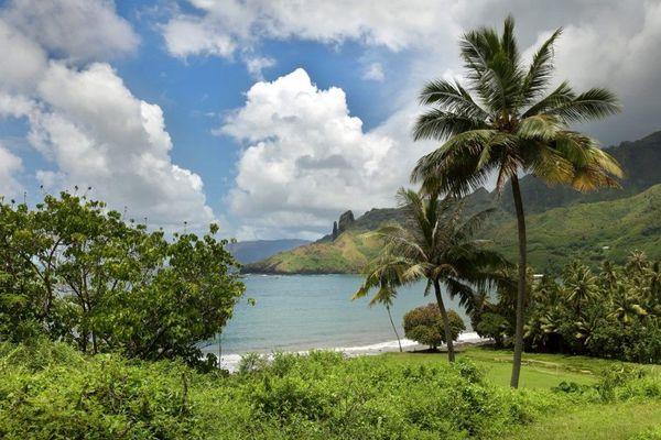 île de Hiva Oa, archipel des Marquises