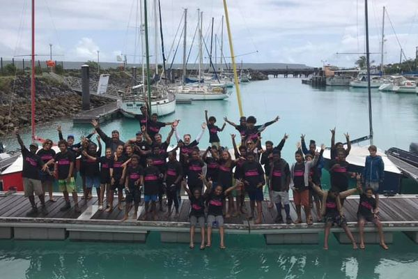 Trophée jeunes marins et artistes 2019, régate de sélection aux îles