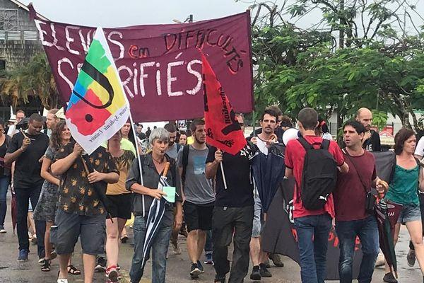 Guyane : éducation nationale, la grève est bien suivie dans les lycées