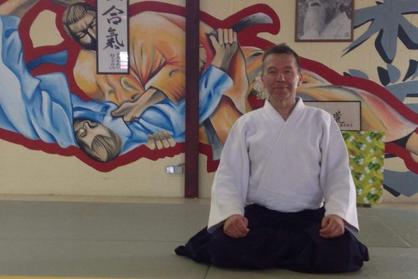 Didier ALLOUIS : grand maître d'aïkido
