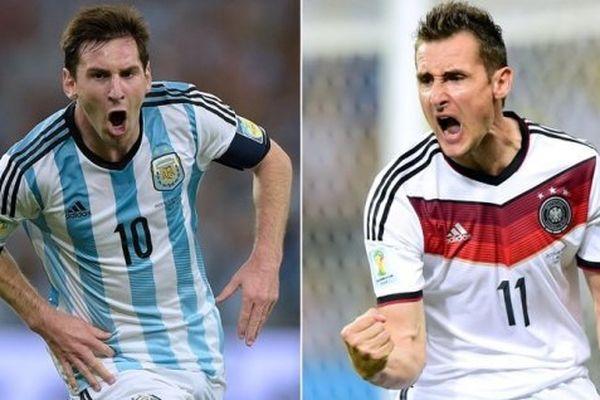 Messi- Klose