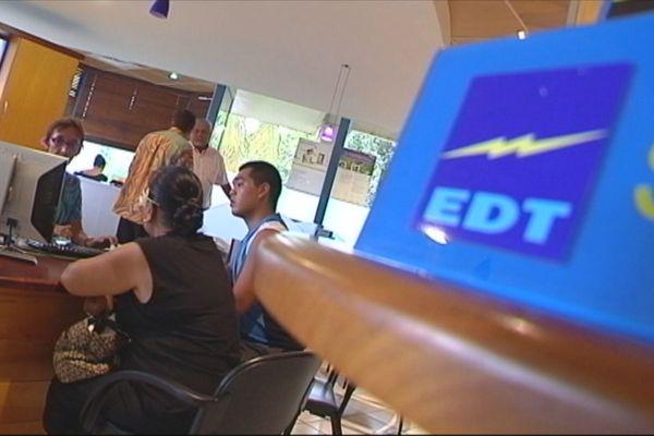 EDT augmentation tarif de l'électricité