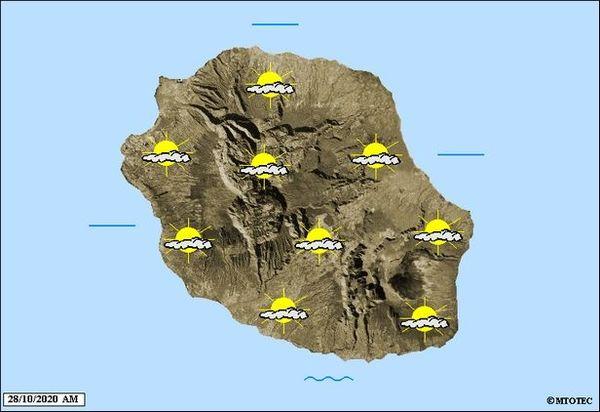 Carte météo 28 octobre 2020