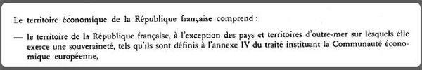 Extrait de la décision de la Commission européenne du 26 juillet 1991