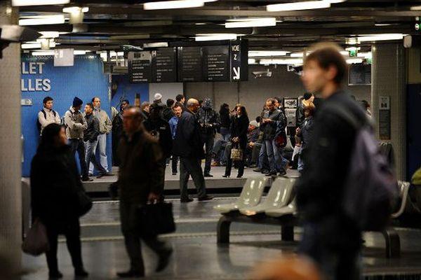 RER Chatelet Les Halles