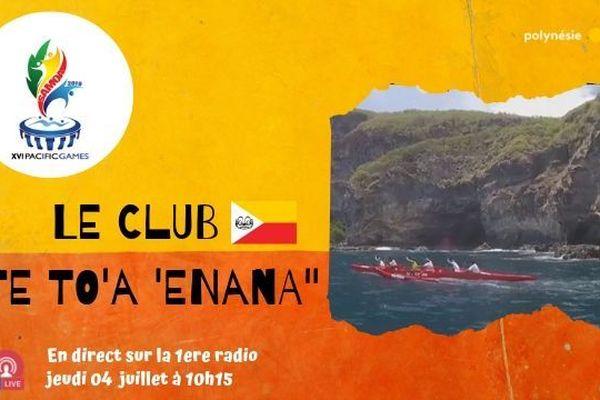 """Samoa 2019 : le club de va'a """"Te To'a 'Enana"""" en direct radio et en Facebook live !"""