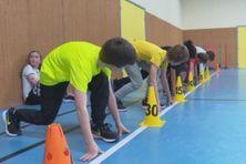 Reprise des cours d'athlétisme à Saint-Pierre