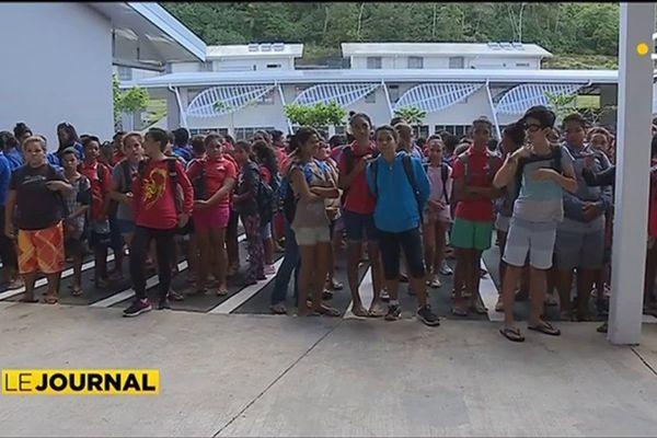 Les élèves de Bora Bora ont leur lycée-collège