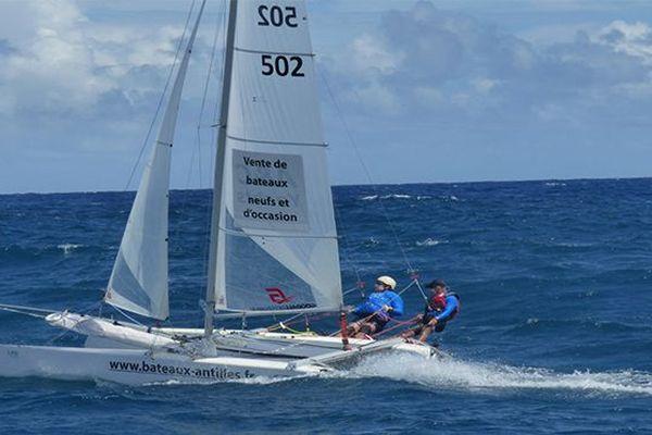 Martinique Cata Raid : Abrard/Thouroude du CN du Marin
