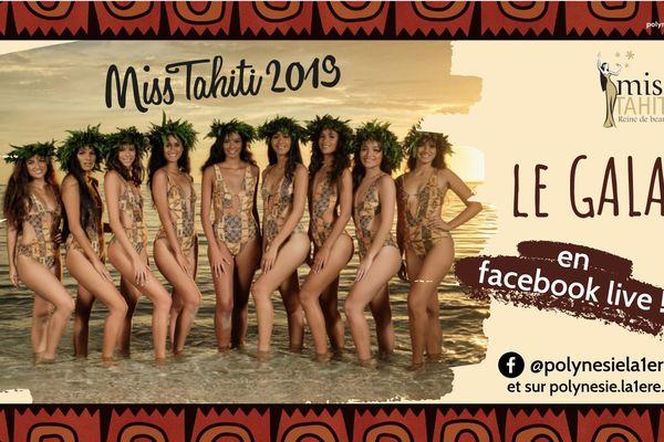 Miss Tahiti 2019 : le gala en Facebook live sur Polynésie la 1ère !
