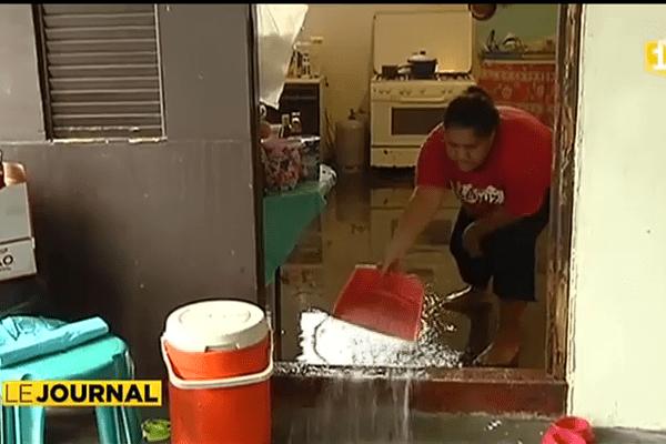 Fortes pluies : de nombreux quartiers inondés