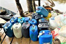 2150 litres de carburant saisis sur l'Approuague