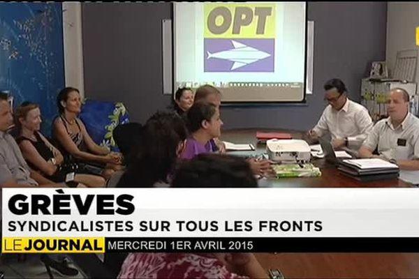 l'OPT entre en grève, statu quo à la CPS
