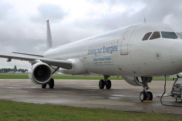 Airbus biocarburant canne à sucre