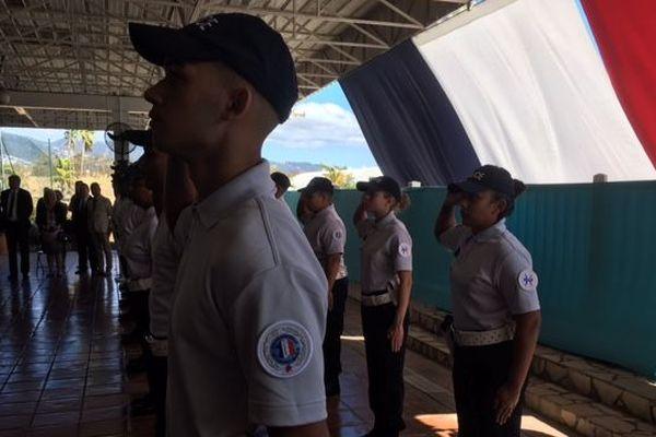 Cérémonie pour les nouveaux adjoints de sécurité