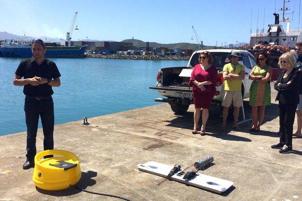 Dispositif anti requins, Nouméa, 6 septembre 2019