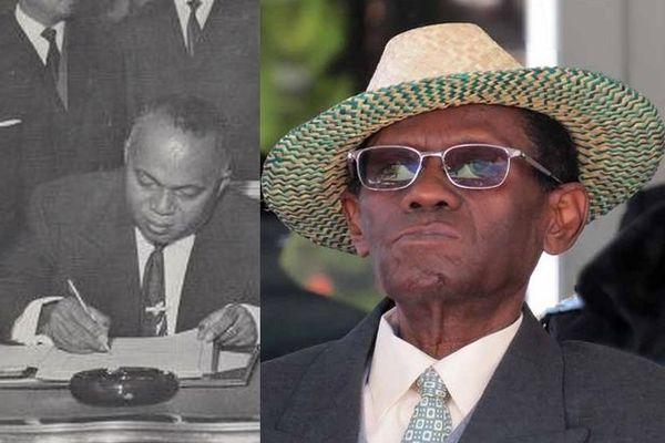 Philibert Tsiranana et Albert Zafy présidents de Madagascar