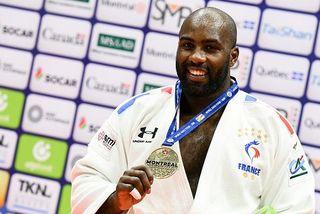 Teddy Riner médaille d'or pour son retour à Montréal
