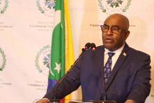 Azali Assoumani, chef de l'Etat de l'Union des Comores