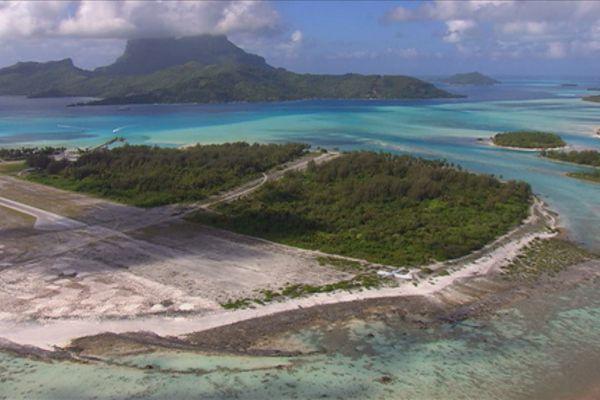 L'agrandissement de l'aéroport de Bora Bora fait réagir les habitants de l'île