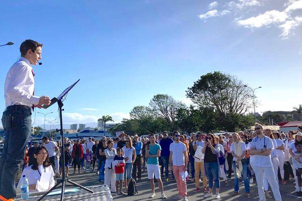 Covid-19 : marche citoyenne contre le pass sanitaire et l'obligation vaccinale, 31 juillet 2021, Nouméa, Jérémy Simon