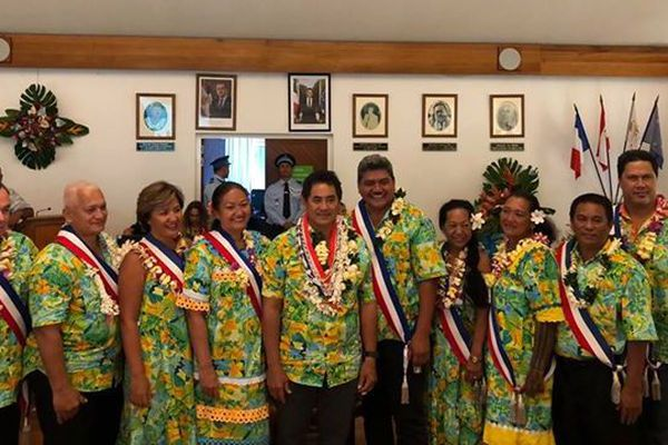 Conseil municipal de Punaauia 2018