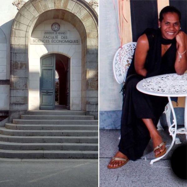 Ambrosia effectue son master à l'université de Rennes