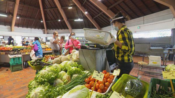 Réouverture marchés Nouméa 2
