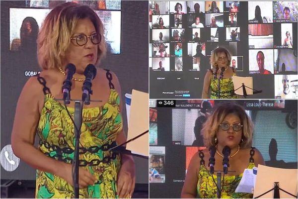 Candidature Catherine Conconne / CTM / élection
