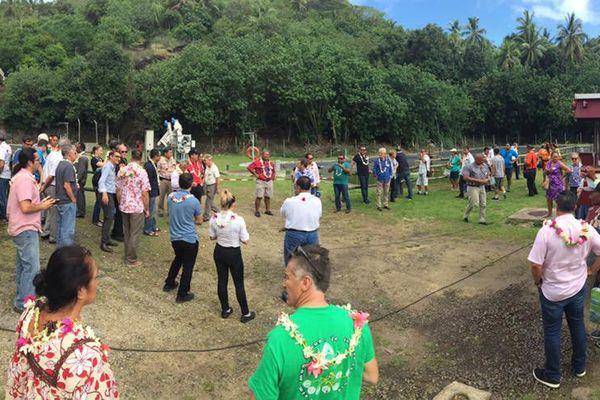 conférence environnement Pacifique Borabora