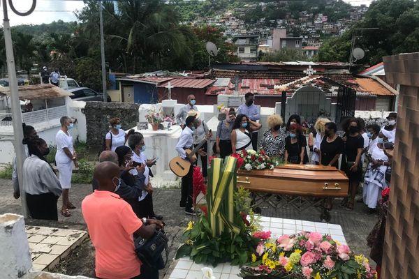Enterrement d'Henri Bibas