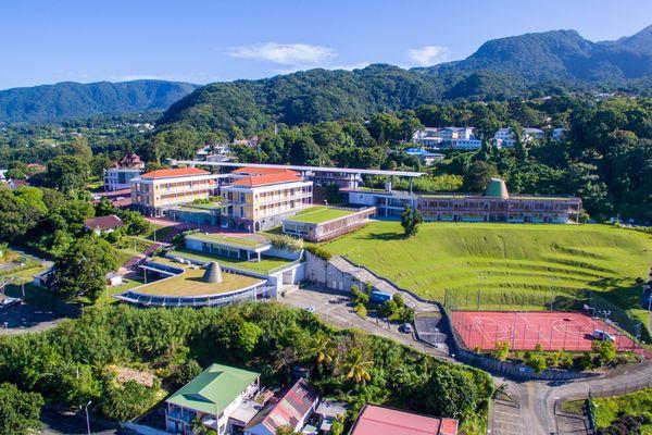Campus du Camp Jacob, à Saint-Claude - Université des Antilles