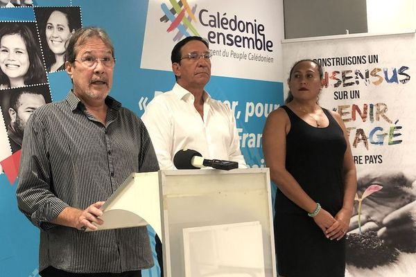 Calédonie ensemble sur l'usine du Sud et la SLN, 20 janvier 2021