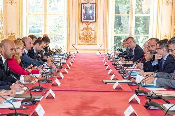 Réunion interministérielle irma