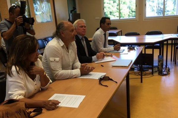 Giovanni Canestri rencontre famille et ministre